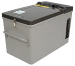 Front View of MT17 Portable Top-Opening 12/24V DC 120V AC Fridge-Freezer by Engel