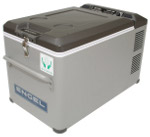Front View of MT35 Portable Top-Opening 12/24V DC 120V AC Fridge-Freezer by Engel