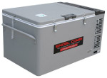 Front View of MT60 COMBI Portable Top-Opening 12/24V DC 120V AC Fridge-Freezer by Engel