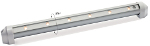 Resolux 851, 852 and 853 Surface Mount Linear LED Lights with Switch by Imtra Marine Lighting