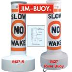 Regulatory River Can Buoys by Jim Buoy