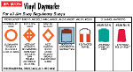 Regulatory Buoy Vinyl Daymark Labels by Jim Buoy