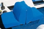 Blue Terry Cloth Boat Seats and Console Covers by Taylor Made Products