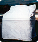 White Vinyl Boat Seats and Console Covers by Taylor Made Products