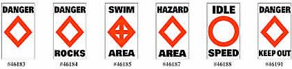 Taylor Made Products Sur-Mark Buoy Labels #46183 through #46191
