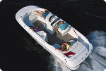 Taylor Made Products Deck Boat Trailerite Hot Shot Semi-Custom Boat Covers