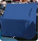 Navy Rip/Stop Polyester Boat Seats and Console Covers by Taylor Made Products