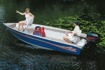 Basic Fishing Trailerite Hot Shot Semi-Custom Boat Covers by Taylor 