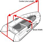 Required Measurements for Inflatable Sport Boat Covers